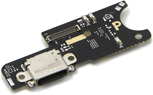 MMOBIEL Repuesto Conector Dock Carga USB Typ C 1.0 Compatible con Xiaomi Pocophone F1 Inc. Conexión Micrófono y Altavoz