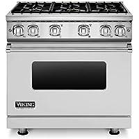 Viking Professional 7 Series VGR73616BSS 36 Inch Gas Range