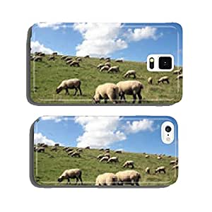 Sheep on the dike cell phone cover case Samsung S5