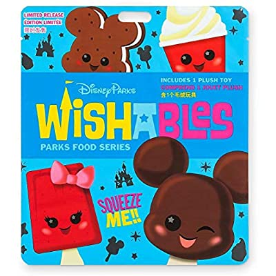 Disney Parks Wishables Mystery Plush Parks Food Series Sealed Limited Edition: Toys & Games