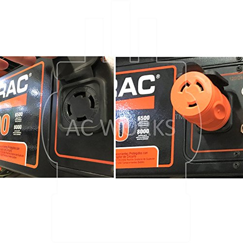 AC WORKS [ADL620L630] Plug Adapter L6-20P 20Amp 250Volt Male Plug to L6-30R 30Amp Female Connector by AC WORKS (Image #5)