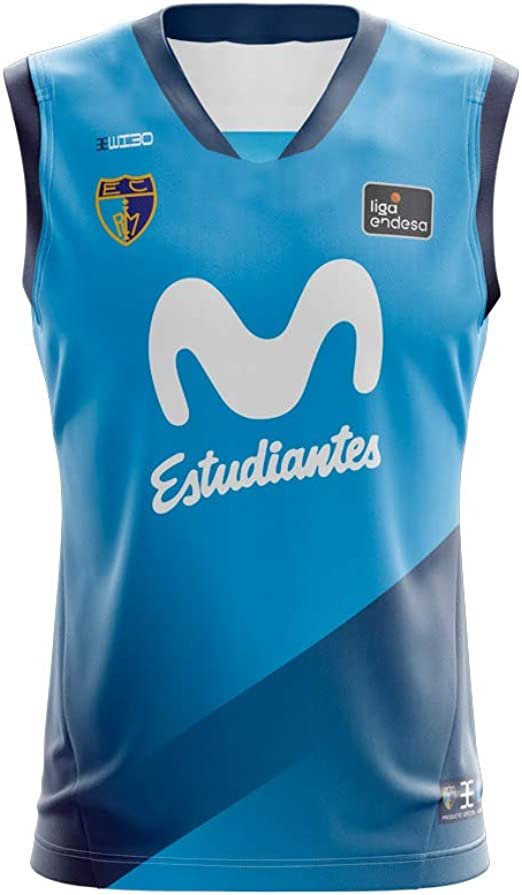 Movistar Estudiantes Camiseta Juego Temporada 19/20 Local Primera Equipación Azul: Amazon.es: Ropa y accesorios