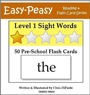 Level 2 Sight Words: 72 Kindergarten Flash Cards (Easy-Peasy ...