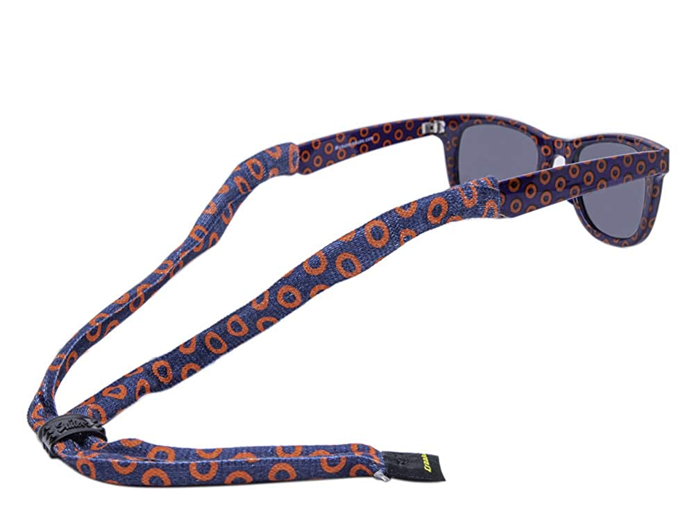 Dark Blue My Sunnies Phish Fishman Donuts Eyewear Retainer Sunglass Strap Croakies Suiters XL