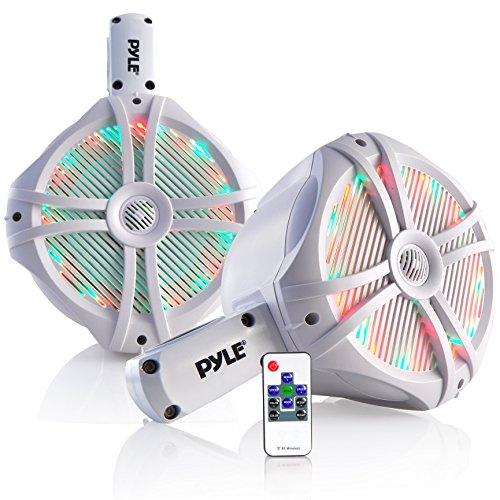 Pyle PLMRWB85LEW Wakeboard Speakers Programmable