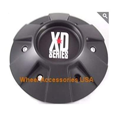 KMC 336L218 803 Thump Black Center Cap: Automotive