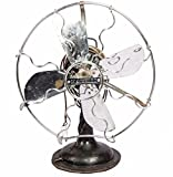 Stunning and Stylish Vintage 1920's Antique Deco Industrial Metal Marelli Table Fan HB 078