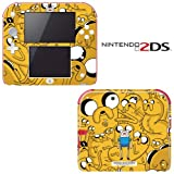 Adventure Time Jake Finn Decorative Video Game Decal Cover Skin Protector for Nintendo 2Ds