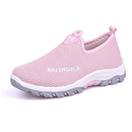 146ab0facf0bc Amazon.com: Breathable Mesh Shoes Light Slip On Women Sneakers ...