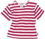 Zutano Primary Stripe T Shirt, Fuchsia/White, 24 Months (18 24 months)