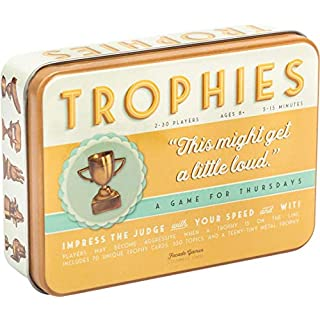 Trophies Card Game - Quick and Simple Word Party Game for 2-30 Players