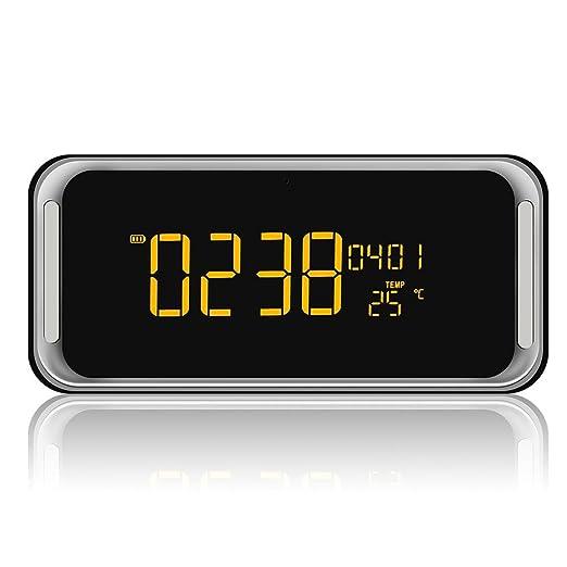 Bzng Despertador Inalámbrico Bocina Bluetooth Radio FM con ...