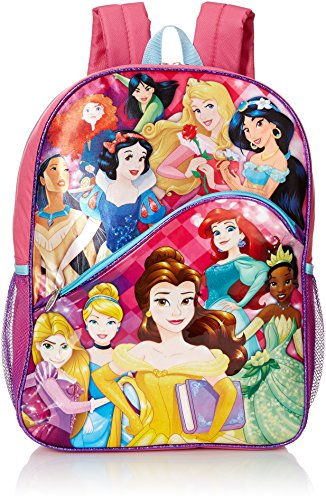 Disney Girls' Princess Backpack, Multi