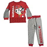 Nickelodeon Toddler Boys Paw Patrol Marshall Jogger Set, red, 5T