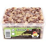 SweetZone 100% Halal Jelly Sweets - Fizzy Cola Bottles Tub of 600pcs
