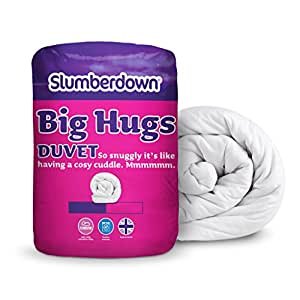 Slumberdown 4.5 Tog Duvet Big Hugs Double Bed, White