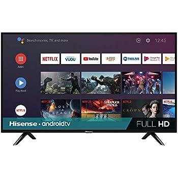 Amazon com: Hisense 40H4C1 40-Inch 1080p Roku Smart LED TV
