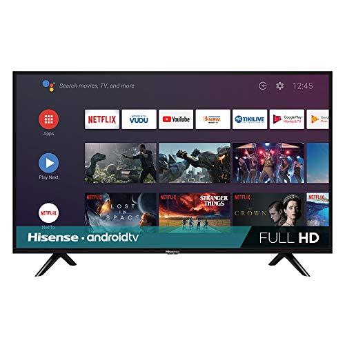 Hisense 40H5590F 40-inch 1080p Android Smart LED TV (2019) (Best 40 Inch Led Tv 2019)