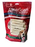 Pet Factory 28112 3'' Mini Rawhide Chip Rolls for Dogs 40 Pack