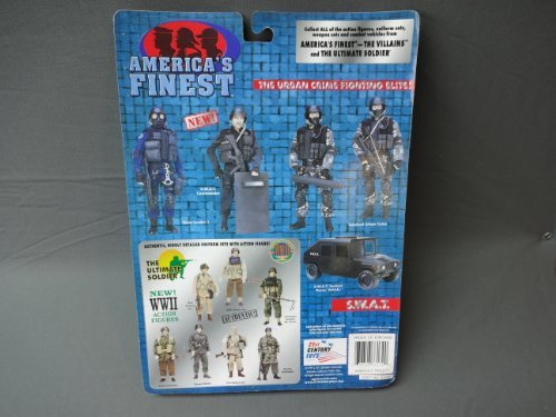 Americas Finest SWAT Commander Accessory Set for Action Figures Ultimate Soldier