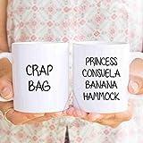 princess consuela banana hammock, Funny Couple Mugs, valentines - Best Reviews Guide