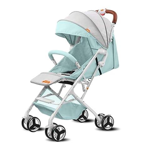 Amazon.com: ZLMI Cochecito de bebé ultraligero portátil ...