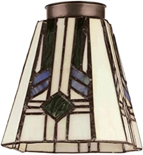 Amazon westinghouse 8112100 2 14 square tiffany lamp shade westinghouse 8112100 2 14 square tiffany lamp shade pack aloadofball Image collections