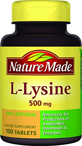 Nature Made L Lysine 500 mg Tablets 100 ea