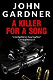 Front cover for the book A Killer For A Song by John Gardner