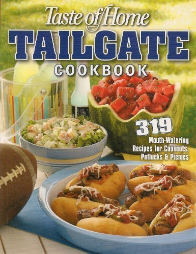 Tailgate Cookbook by Taste of Home