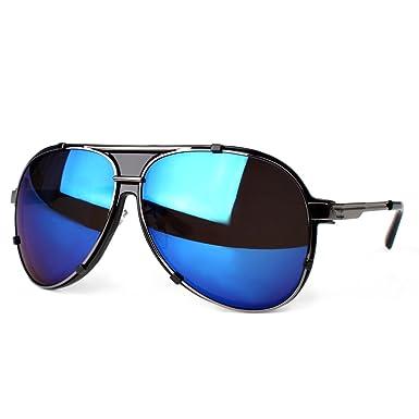 Distressed Pilot Shades Xl Pilotenbrille Sonnenbrille im Aviator Style gold-rot verspiegelt NPvkCcJh