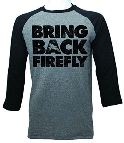 Firefly Bring Back Firefly Herren Schwarz Langarm T-Shirt