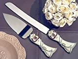 Lucky in love Western theme collection cake and knife