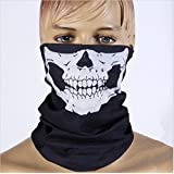 Rainbow Love 2pcs Stretchable Tubular Skull Face Mask Motorcycle Biker Snowboards