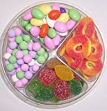 Scott's Cakes 4-Pack Jordan Almonds, Chocolate Dutch Mints, Peach Rings, & Pectin Fruit Gels