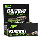 Musclepharm Combat Crunch Bar, Cookies/Cream, Net Weight 26.67-Ounce, 12-Count