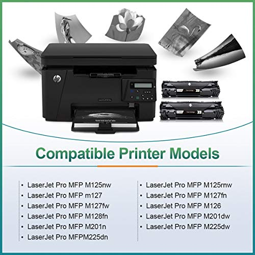 CMYBabee Compatible Toner Cartridge Replacement for HP 83A(CF283A) Work  with HP Laserjet Pro MFP M125a M125nw M127fn M127fw M201dw M201n M225dn