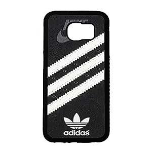 Creative Diagonal Stripes White Logo Addidas Phone Case Cover for Samsung Galaxy S6 Custom Series