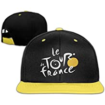 WYUZHEN Kid's Cycling Tour De France 2016 Hip-hop Snapback Hat Caps Yellow