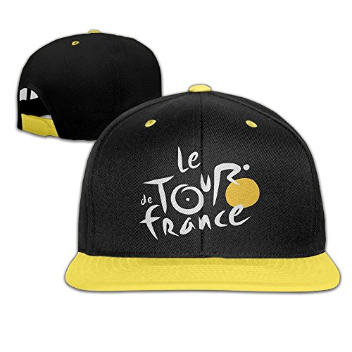 Tiffany Doll Costume (WYUZHEN Kid's Cycling Tour De France 2016 Hip-hop Snapback Hat Caps Yellow)