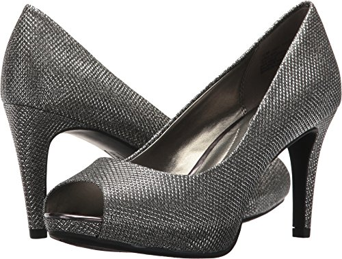 Metal Pumps Womens - Bandolino Women's Rainaa Pump, Gunmetal, 5 M US