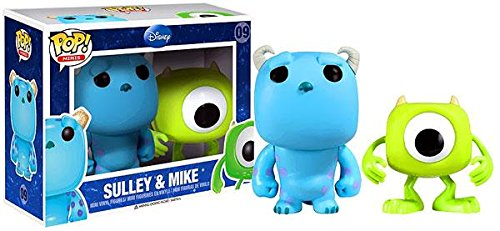 Pop! Minis Disney Monsters, Inc. Mike & Sulley Vinyl Figure 2-Pack (Disney Funko Monsters Inc compare prices)