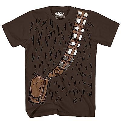 Chewbacca Chewie Star Wars Costume Funny Humor Pun Adult Men's Graphic Tee T-shirt