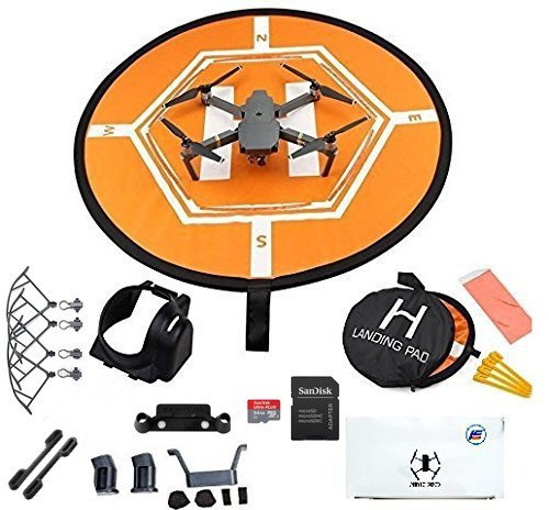 DJI-Mavic-Pro-Fly-More-Combo-Collapsible-Quadcopter-Drone-Safety-Bundle-with-Extra-2-Batteries-Landing-Pad-Kit-and-More-Accessories