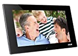 7 Inch Digital Photo Frames High Resolution With Auto On/Off Timer, Photo,Music and Video Player Advertising Player With VESA