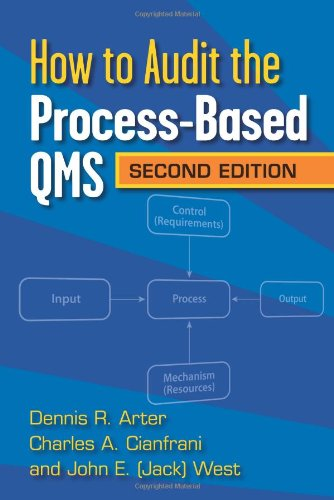 How to Audit the Process Based QMS, Second Edition