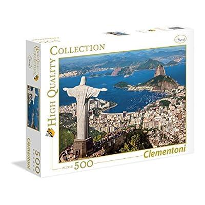 Clementoni 35032 High Quality Collection Puzzle Rio De Janeiro 500 Pezzi