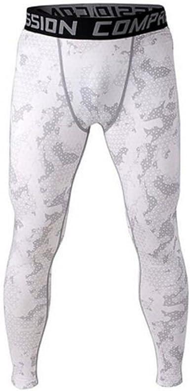 Mode Homme Pantalon de Sport Legging de Compression Disco V/êtement Haute /Élasticit/é