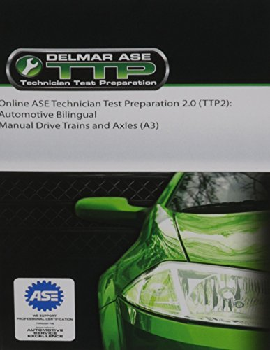 Online ASE Technician Test Preparation -Automotive Bi-Lingual Series (A3- Manual Drive Trains & Axles) Printed Access Card