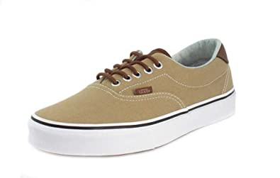 1d289a05d92 Vans Unisex Era 59 (C L) Cornstalk Acid Denim Skateboarding Sneakers  VN0A38FSQ (9.5